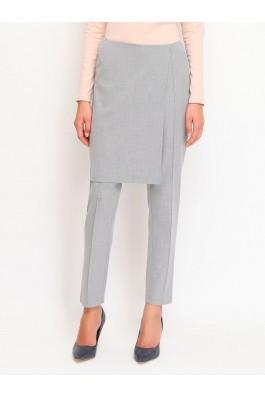 Pantaloni drepti Top Secret SSP2065SZ  Gri
