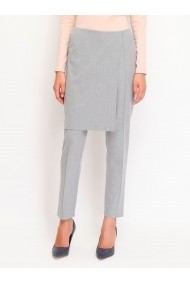 Pantaloni drepti Top Secret SSP2065SZ  Gri