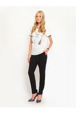 Pantaloni drepti Top Secret SSP2053CA Negru