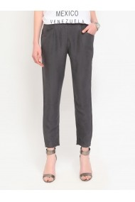 Pantaloni drepti Top Secret SSP1994SZ  Gri