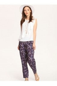 Pantaloni largi Top Secret SSP2295GR bleumarin