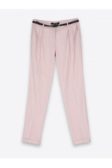 Pantaloni drepti Top Secret SSP2299JR  Roz