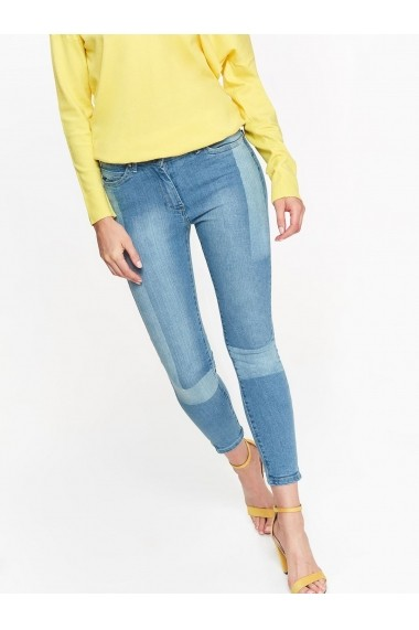 Pantaloni drepti Top Secret TOP-SSP2907NI Albastru