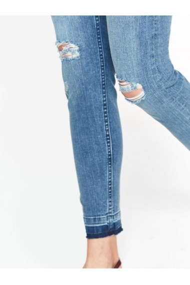 Pantaloni drepti Top Secret TOP-SSP2908NI Albastru