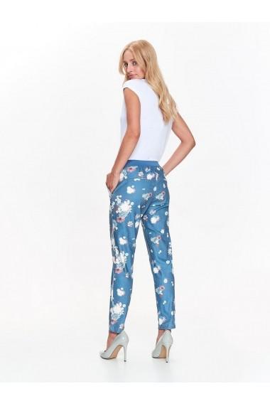 Pantaloni drepti Top Secret TOP-SSP3016TU Turcoaz