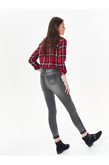 Jeansi Skinny Top Secret TOP-SSP3026SZ Gri