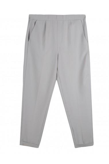 Pantaloni drepti Top Secret TOP-SSP3089SZ Gri - els