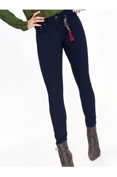 Jeansi Skinny Top Secret TOP-SSP2980NI Albastru