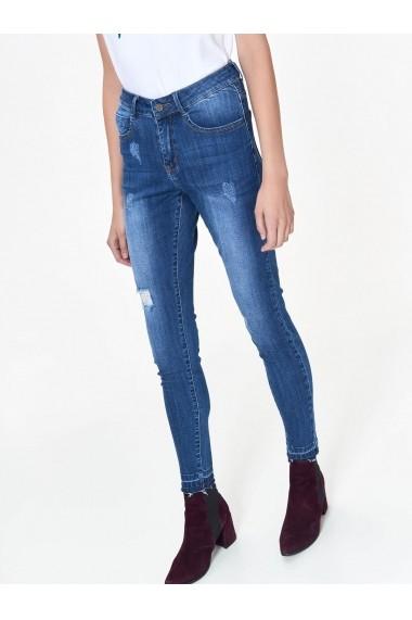 Jeansi Skinny Top Secret TOP-SSP3001NI Albastru