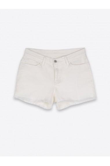 Pantaloni scurti Top Secret SSZ0755BI  Alb