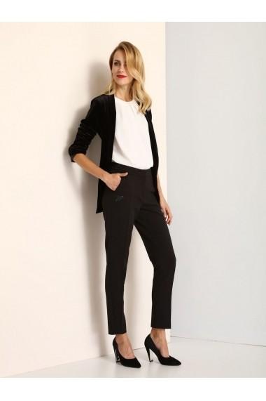 Pantaloni drepti Top Secret SSP2462GR  Bleumarin
