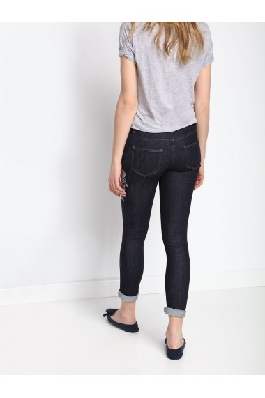 Jeansi slim Top Secret SSP2516NI  Albastru