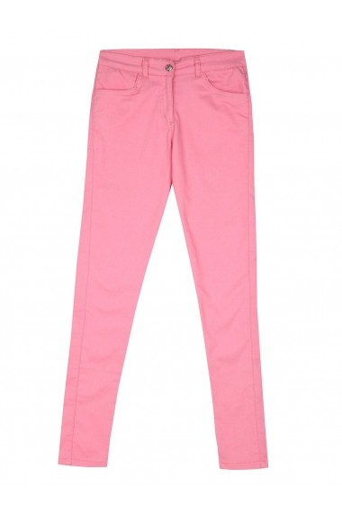 Pantaloni skinny Troll TOP-TSP1351RO Roz