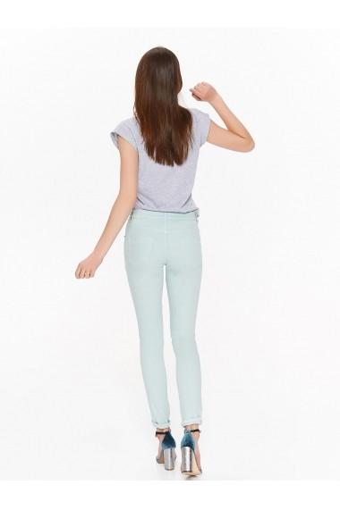 Pantaloni drepti Troll TOP-TSP1379BL Albastru
