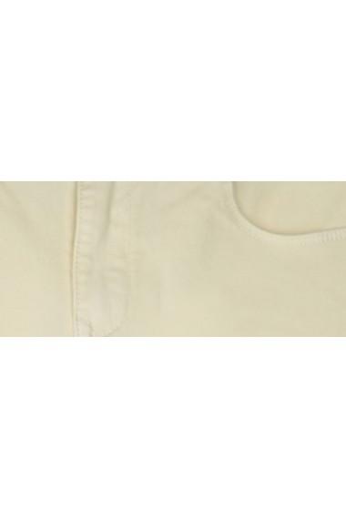 Pantaloni drepti Troll TOP-TSP1380ZO Galben