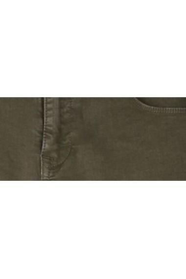 Pantaloni drepti Troll TOP-TSP1395CZ Verde