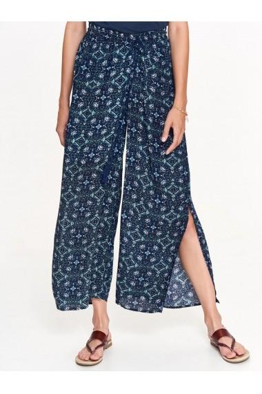 Pantaloni drepti Troll TOP-TSP1399GR Bleumarin