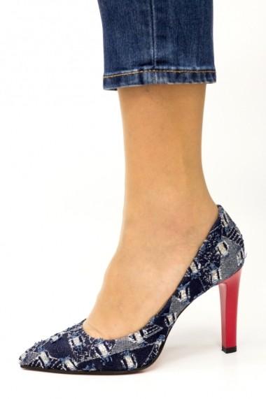 Pantofi denim Thea Visconti P-425B/18/949