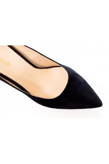 Pantofi cu toc Thea Visconti P129-19-949 Negru