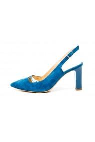 Pantofi cu toc Thea Visconti PS-252-19-1253 Turcoaz
