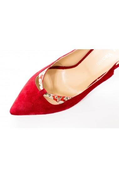 Pantofi cu toc Thea Visconti PS-250-19-1253 Rosu
