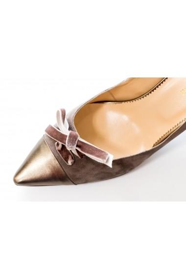 Pantofi cu toc Thea Visconti PS-256-19-1088 Maro