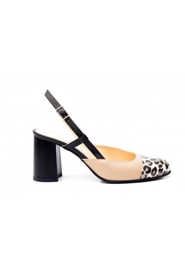Pantofi cu toc Thea Visconti PS-263-19-538 Animal print