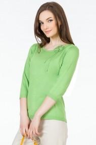 Пуловер Sense FSE-216902--36 светлозелен