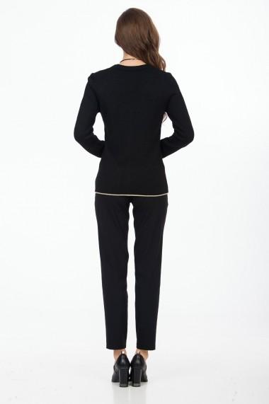 Cardigan Sense Simplicity negru