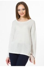 Pulover Sense tricotat Anna ecru