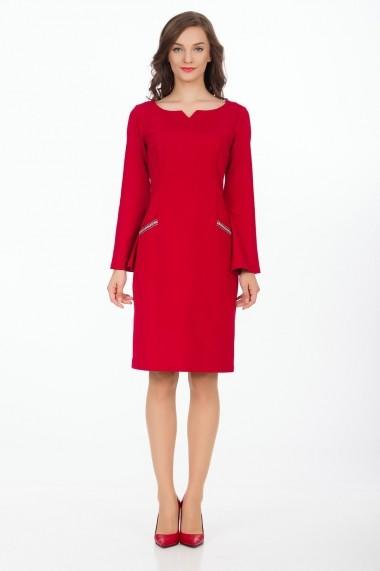Rochie de zi Sense Scarlett rosu