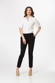 Pantaloni drepti Sense office Maddie negru