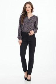 Pantaloni skinny Sense Karen negru
