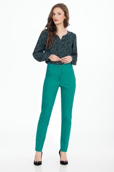 Pantaloni skinny Sense Karen verde