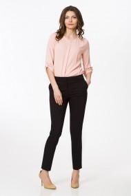 Pantaloni drepti Sense office Clarisse negru