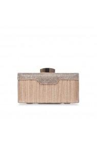 Clutch NISSA elegant cu pietre stralucitoare Auriu