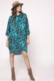 Rochie NISSA camasa cu print Print