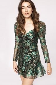 Rochie NISSA RS11673 Verde