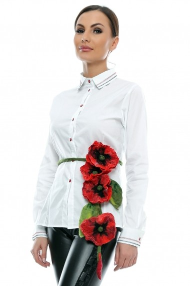 Camasa pentru femei marca Crisstalus alba