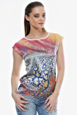 Bluza Crisstalus cu imprimeu digital