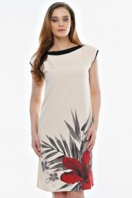 Rochie Crisstalus tip sac florala