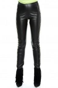 Pantaloni pentru femei marca Crisstalus din piele ecologica