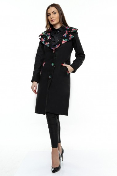 Palton Crisstalus negru
