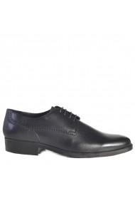 Pantofi din piele Mopiel 140402/Negru/Austin Negri