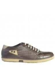 Pantofi din piele Mopiel 130404/Maro/Clark Maro