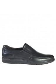 Pantofi din piele Mopiel 130202-1/Alex/Negru/Antonio Negri
