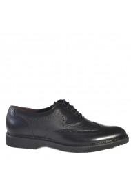 Pantofii din piele Mopiel 130201/Edi/Negru/Aldo Negri