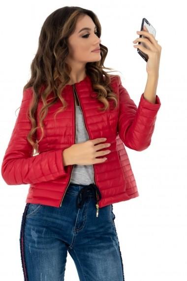 Geaca Roh Boutique rosie, ROH, de toamna - JR401 rosu