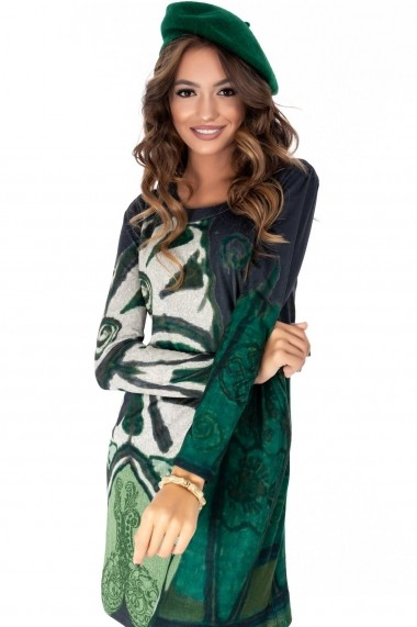 Basca Roh Boutique verde, ROH, din lana - A0274 verde One Size