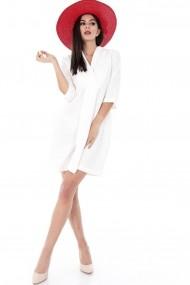 Rochie scurta Roh Boutique CLD531 Alba